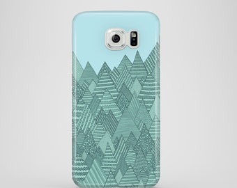 Spring Forest / mountains phone case / Samsung Galaxy S7, Samsung Galaxy S6, Samsung Galaxy S6 Edge, Samsung Galaxy S5 /mountain iPhone case