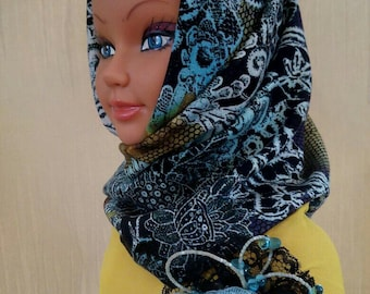 Poke Bonnet, Hat-Kapor (under the order). Hood for women. Winter/Autumn/Spring.