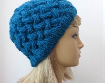 PDF Knitting   The Magdalena  Hat II, Knitting Pattern, Beanie, Bowler, Tam, Toque, Hat, Knitting Pattern Hat