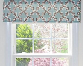 Flat Valence Window Treatment, Flat Curtain, Flat Valence, Flat Window Treatment, Flat Valance Window Treatment, Custom Made Valance