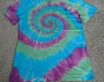 Tie dye swirl tshirt