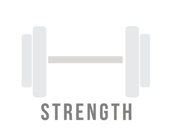 "Spot Your Sport ""Strength"" Design"