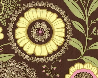 Designer Ironing Board Cover - Amy Butler Lotus Lacework Brown