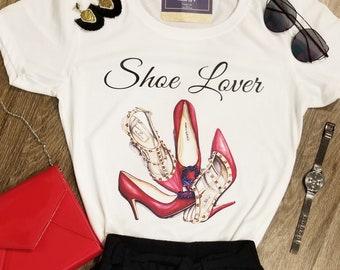 Shoe lover T-shirt