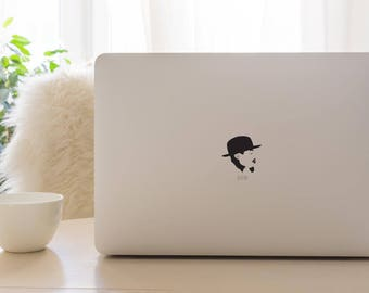 Andre 3000 MacBook Decal / Outkast/ Apple Macbook Laptop Vinyl Sticker Decal