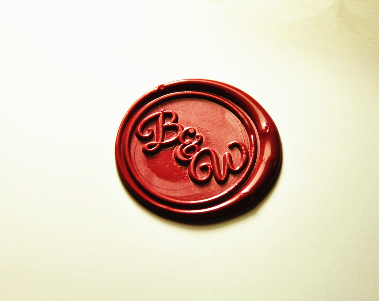A-Z custom design Double alphabets Wax Seal stamp 2 initial wax seal ...