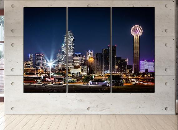Dallas  canvas wall art  Dallas  wall decor canvas wall art  Dallas large canvas wall art wall decoration