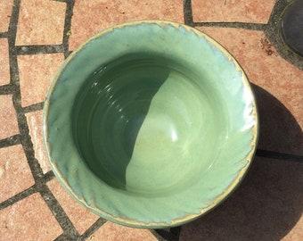 Spearmint Salt Bowl