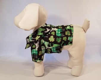 Dog Shirt St Patrick's Day- Green Dogs - Dog Clothes Pet Clothes