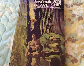 REDUCED Slave Ship by Frederick Pohl Science Fiction book