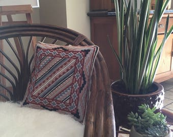 Vintage Woven Decorative Pillow