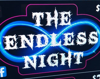 The Endless Night official logo sticker