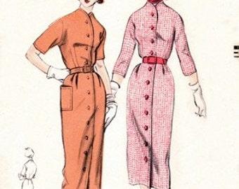 Vogue 3490 Eye Candy Dress 1952 / SZ11 Complete