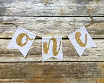 Happy Birthday Banner, Birthday, Banner, Bunting, Party Decorations, Custom, Personalized, Backdrop, Baby Girl, Baby, Garland, Glitter, Gold