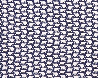 Copenhagen Print Factory Fabric Icebear On Blue 1153.02