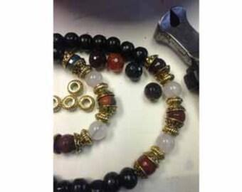 Buddi Beads,Jasper Beads Tibetan 108 Prayer Mala