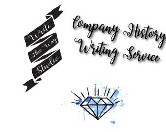 Company History Writing Service - Write This Way Studio - Writing Services - Business Services - Company History - Copywriting - Content