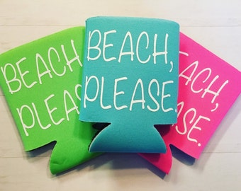 Beach, Please! can beverage cooler *more colors!!!*