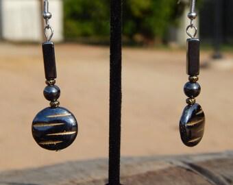 Hematite Earrings