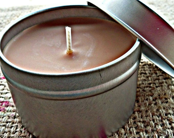 Cinnamon Roll Scented Travel Tin Candle - Pip & Lola's Common Scents - Soy Candle Wax, Travel Tin, Soy Wax, EcoSoy, Candle, Lightly Scented