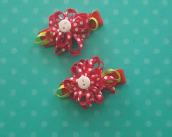 Girl's Handcrafted Hair Clips