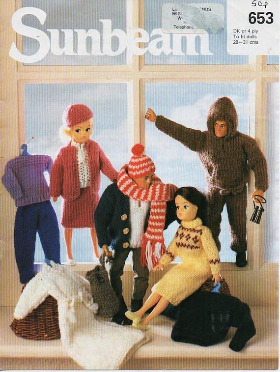 Dolls Knitting Pattern Pdf Download Teenage Dolls Clothes Teenage