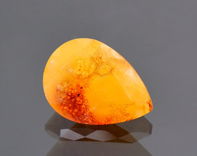 Fascinating Vascular Opal Gemstone from Mexico 5.52 cts.