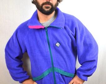 Vintage 80s Purple Ski Fleece - Woolrich