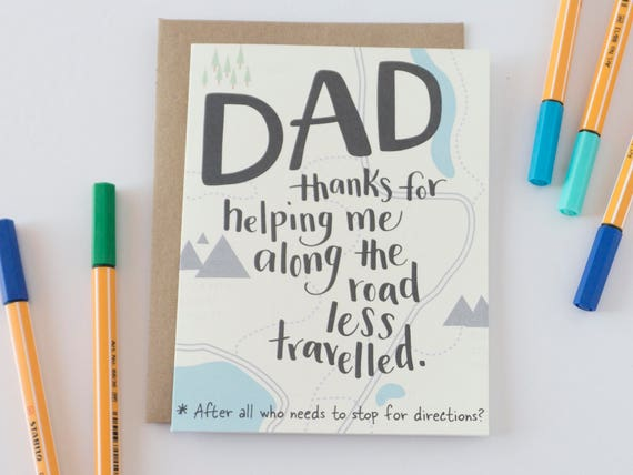 Funny Fathers Day Card Dad Card Fathers Day Card Card For