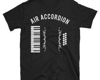 Air Accordion Funny Music T shirt