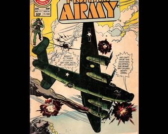 Fightin' Army Vol.  No. 115 - Charlton Comic Book c. September 1974