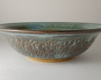 Hand thrown ceramic bowl.