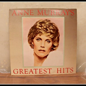 Vintage Anne Murray LP Record - Greatest Hits, Vintage Records, Classic Vinyl, Capitol Records, 1980s Soft Rock Music, Easy Listening Music