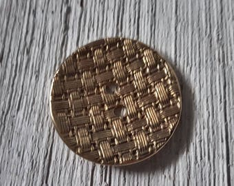 Bronze Button ~1.5""
