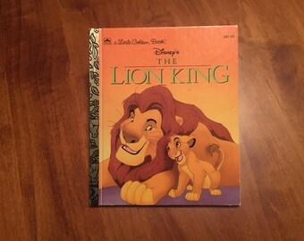 The Lion King, Walt Disney's Little Golden Book, Simba, Mufasa