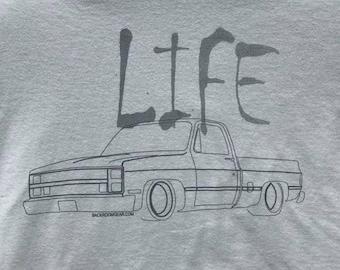 Squarebody Truck Life Tee