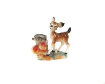 Deer Toothpick Holder Miniature Figurine