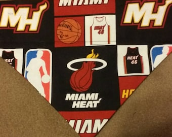 SALE! Miami Heat Dog Bandana!!