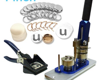 1 Inch Button Maker Machine - Professional Starter Kit