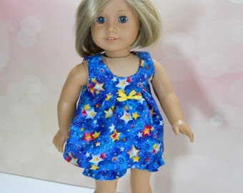 18 inch doll clothes, 18 inch doll summer nightgown,  04-2939