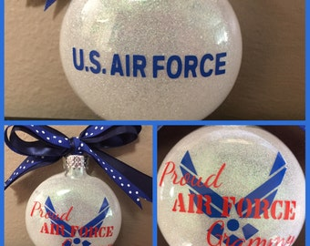 Coast Guard Ornament , Navy Ornament , Army Ornament , Marine Ornament , Air Force Ornaments