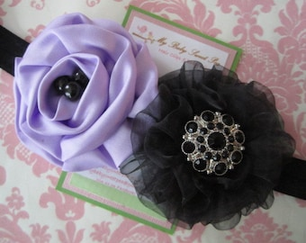 Baby headbands - flower headbands - girl headbands