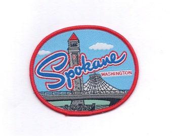 Vintage Spokane Washington Patch