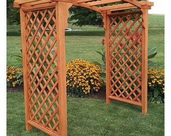 Pressure-Treated Pine Jamesport 6ft. Garden Arbor