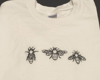 Embroidered Bee Shirt