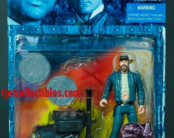 Wild Wild West General McGrath Capture Disk Slinger Action Figure WB Toy
