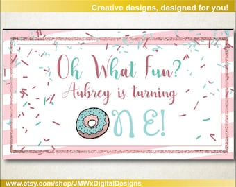 Invitation covers etsy facebook event cover birthday party facebook event cover birthday party invitation doughnut birthday party stopboris Image collections