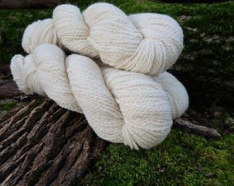 White Romney Yarn - Jefferson