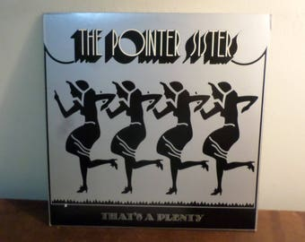 Vintage 1974 LP Record The Pointer Sisters That's A Plenty Excellent Condition 15479