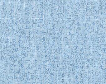 PRESALE: Paris Blue from Polk by Carolyn Friedlander on Robert Kaufman's Essex Yarn Dyed Homespun